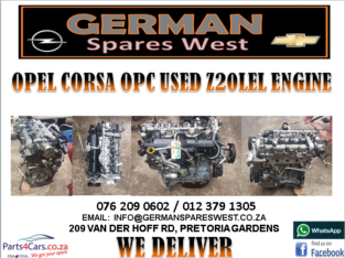 OPEL CORSA OPC USED Z20LEL ENGINE FOR SALE