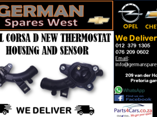 OPEL CORSA D NEW THERMOSTAT HOUSING AND SENSOR