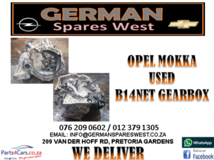OPEL MOKKA USED B14NET GEARBOX FOR SALE