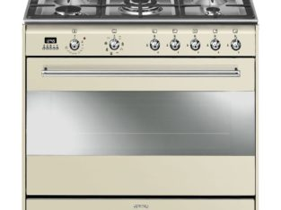 Smeg 90cm Vintage Cream Concert Cooker & Oven