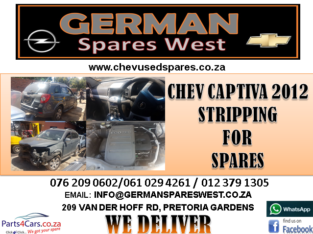 CHEV CAPTIVA 2012 STRIPPING FOR SPARES