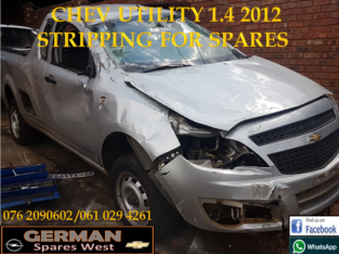 CHEV UTILITY 1.4 2012 STRIPPING FOR SPARES