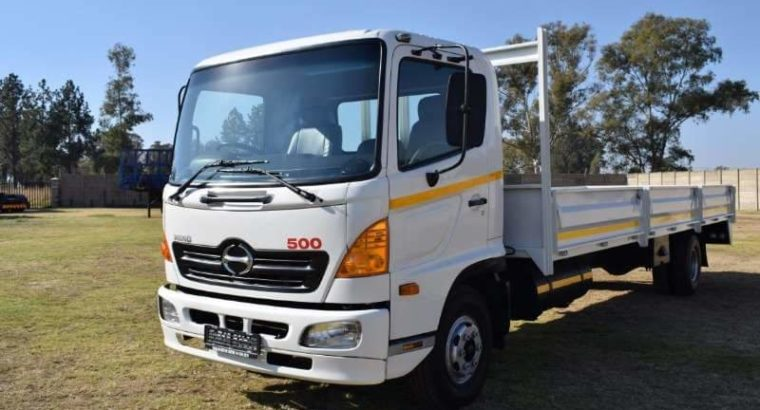 Hino 500 Dropside for sale