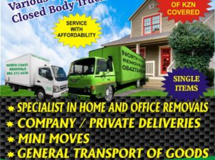 North Coast Removals & Mini Movers