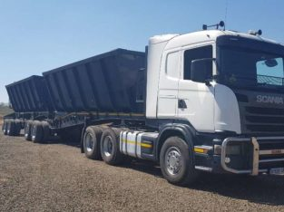 2013 Scania G460 T /T 2007 AFrit 45 Cube Tipper