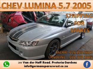 CHEV LUMINA SS 5.7 STRIPPING FOR SPARES