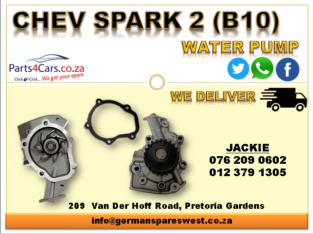 CHEV SPARK 2 ( B10 ) NEW WATER PUMP FOR SALE