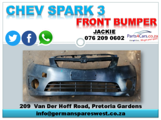 CHEV SPARK 3 NEW FRONT BUMPER FOR SALE