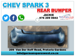 CHEV SPARK 3 NEW REAR BUMPER FOR SALE