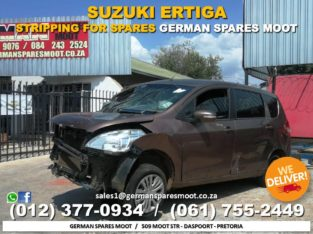 Suzuki Ertiga – STRIPPING FOR SPARES! ?✅
