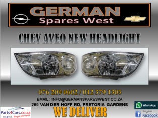CHEV AVEO NEW HEADLIGHT FOR SALE