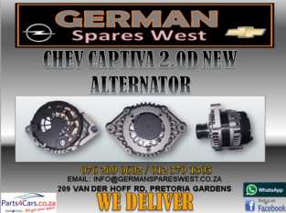 CHEV CAPTIVA 2.0D NEW ALTERNATOR FOR SALE