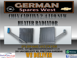CHEV CAPTIVA 2.4 LE9 NEW HEATER RADIATOR FOR SALE