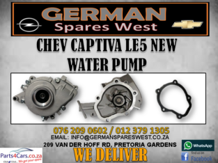 CHEV CAPTIVA LE5 NEW WATER PUMP FOR SALE