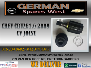 CHEV CRUZE 1.6 2009 NEW CV JOINT FOR SALE