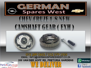 CHEV CRUZE 1.8 NEW CAMSHAFT GEAR FOR SALE