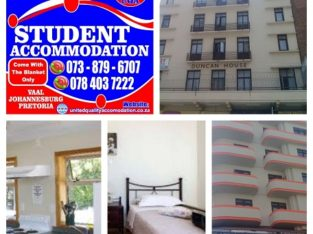 Student Accommodation in Johannesburg & Braam for this year
