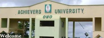 Achievers University 2020/2021 Form