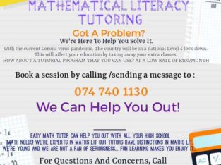 Mathematical literacy tutor