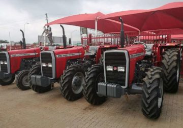 Massey Ferguson 290 4X4 Normal Tractor