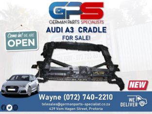 Audi A3 – Cradle FOR SALE!