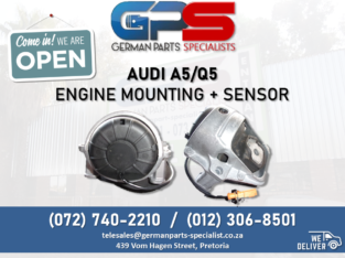 Audi A5/Q5 – Engine Mounting + Sensor FOR SALE!