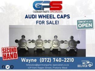 Audi USED Wheel Caps FOR SALE! ( Still in good condition! )