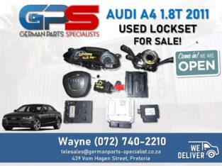 Audi A4 1.8T 2011 (CDH) – Lockset FOR SALE!