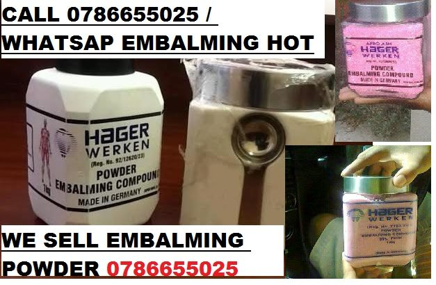 +27786655025 hager werken embalming compound powder Zimbabwe,