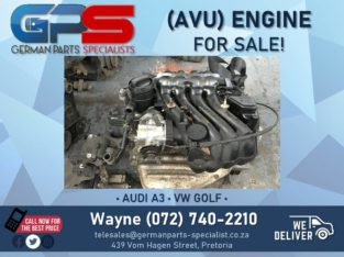 AVU Engine FOR SALE! ( VW Golf + Audi A3 )