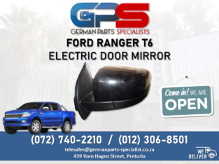 Ford Ranger T6 – Electric Door Mirror FOR SALE!