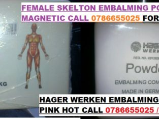 price for 1kg hager werken embalming powder 0786655025