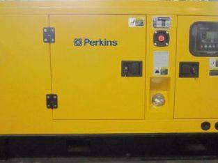 PERKINS 50/KVA SILENT 3-PHASE AUTO START DIESEL GENERATOR