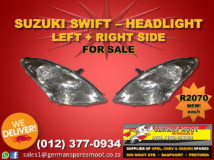Suzuki Swift – Headlight FOR SALE!