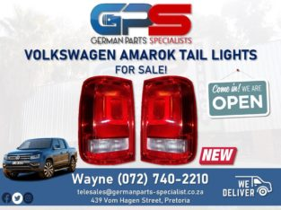 Volkswagen Amarok Double Cab – Tail Lights FOR SALE!