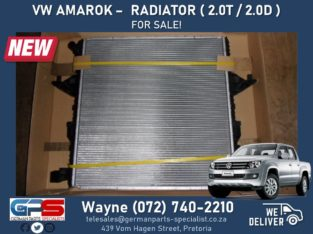 Volkswagen Amarok – NEW Radiator FOR SALE ! ( 2.0 T / 2.0 D )