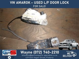 Volkswagen Amarok – Used Left Front Door Lock FOR SALE !