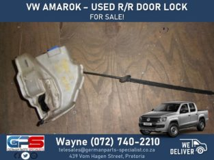 Volkswagen Amarok – Used Right Rear Door Lock FOR SALE !
