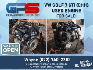 VW Golf 7 GTI (CHH) – Used Engine FOR SALE!
