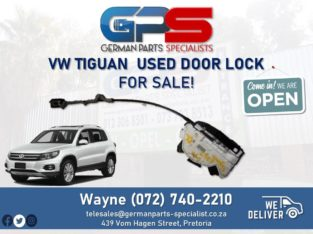 VW Tiguan – Used Door Lock FOR SALE!