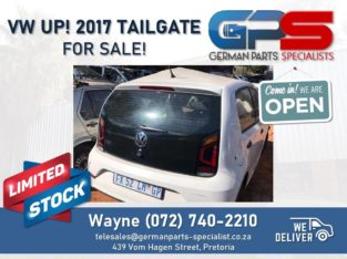 Volswagen Up! 2017 – Tailgate FOR SALE!