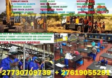 +27730709739 training operator machine and welding course others