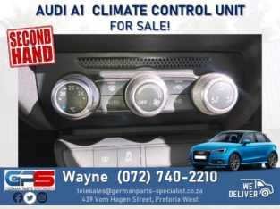Audi A1 – Climate Control Unit FOR SALE!