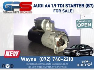 Audi A4 1.9 TDI – Starter (B7) FOR SALE!