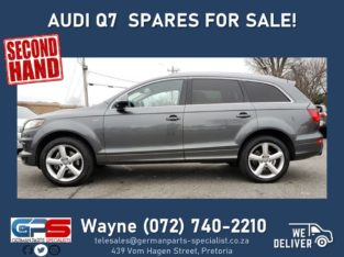 Audi Q7 Spares FOR SALE! ( new + used spares )