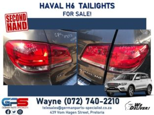 Haval H6 – Tail Lights FOR SALE! ( right + left side available )