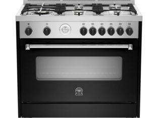 La Germania Americana 90cm Gas/Electric – Black (AMS95C61LBNE)