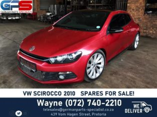 Volkswagen Scirocco 2010 – STRIPPING FOR SPARES!