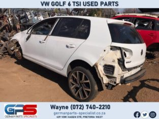 Volkswagen Golf 6 TSI Second Hand Spares