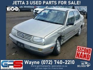 VW Jetta 3 – Used Parts FOR SALE!